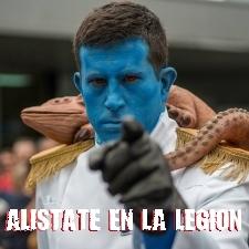 Alistate en la Legion 501
